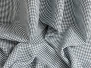 Fire retardant polyester fabric for curtains UP-CHECKS - Equipo DRT
