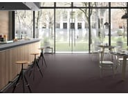 Full-body porcelain stoneware wall/floor tiles with concrete effect URBANA CONTRACT Black - Italgraniti