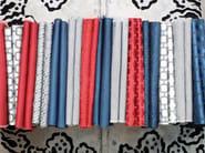 Fire retardant jacquard fabric with graphic pattern URBANA TENT - l'Opificio