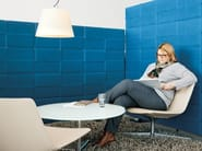 Parete mobile in poliestere per ufficio USM PRIVACY PANELS - USM Modular Furniture