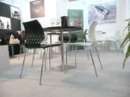Stackable polypropylene chair Uni 550 - Metalmobil