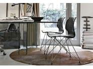 Polypropylene restaurant chair Uni 553 - Metalmobil