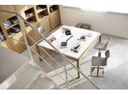 Swivel polypropylene chair Uni 560 - Metalmobil