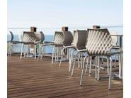 Stackable polypropylene chair Uni 574 - Metalmobil