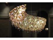 Halogen crystal pendant lamp VAGUE   Crystal pendant lamp - Manooi