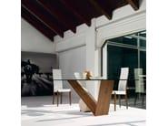 Crystal table VALENTINO | Table - Cattelan Italia