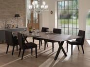 Upholstered leather chair VAN GOGH   Chair - Joli