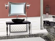 Lacquered vanity unit with drawers with mirror VANITY CM05VA - LA BUSSOLA