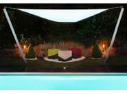 Sgabello / tavolino in pelle VARIO | Sgabello - Otono Design
