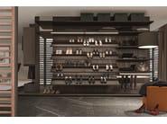 Sectional walk-in wardrobe VARIUS | Walk-in wardrobe - Presotto Industrie Mobili