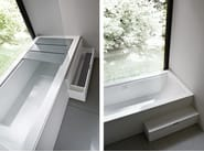 Corian® bathtub / shower cabin BATHTUB-SHOWER - Rexa Design