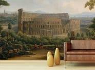 Trompe l'oeil wallpaper VEDUTA DEL COLOSSEO - Wallpepper