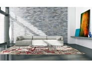 Patterned rectangular rug VEGA - ITALY DREAM DESIGN - Kallisté
