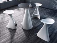 High Adamantx® stool with footrest VEGA - ZAD ITALY