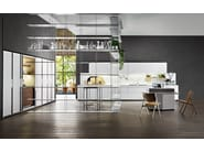 Kitchen with integrated handles VELA - DADA