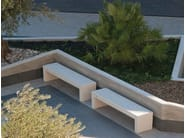 Modular backless Bench VENEZIA - Bellitalia