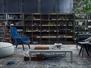 Fabric armchair with headrest VENTURA LOUNGE   Armchair - Poliform
