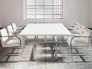 Rectangular wooden table VERNISSAGE - ALIVAR
