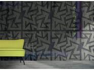 Geometric washable wallpaper VICEVERSA - N.O.W. Edizioni