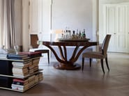 Round wooden dining table VICTORIA | Table - SELVA