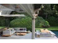 Rectangular teak garden table VIGOR | Teak table - ROYAL BOTANIA