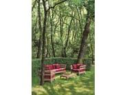 Sectional teak garden sofa VILLAGE | Sectional sofa - Ethimo