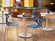 Round Nylon® table VINCENT - ALMA DESIGN
