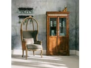 Lacquered wood and glass display cabinet VINTAGE ROMANCE | Display cabinet - KARE-DESIGN