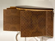 Wooden sideboard with doors VISION - Mobi