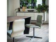 Swivel chair with 4-spoke base VITA - Cattelan Italia
