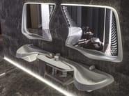 Specchio a parete per bagno VITAE | Specchio per bagno - NOKEN DESIGN