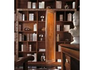 Open solid wood bookcase VIVRE LUX | Open bookcase - Arvestyle