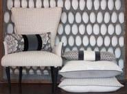 Jacquard fabric with graphic pattern VOCALESE TRECCIA - l'Opificio