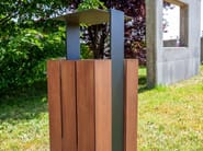 Outdoor waste bin WADE | Waste bin - SIT