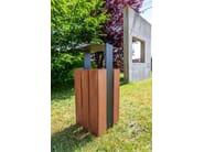 Outdoor waste bin WADE | Waste bin - SIT