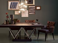 Square dining table WALDORF | Wooden table - SELVA
