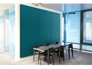 Fabric decorative acoustical panels WALL COVER - Acousticpearls