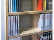 Sectional floorstanding custom CD rack WALL DISC LAQUÉE - MALHERBE EDITION