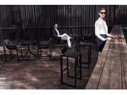 High polypropylene garden stool WALL STREET | Stool - VONDOM