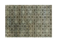 Jute rug with geometric shapes WATERKEYN - GAN By Gandia Blasco