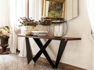 Rectangular wooden console table WESTIN - Cattelan Italia
