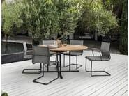 Round garden table WHIRL | Garden table - Gloster