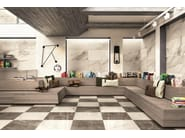 Full-body porcelain stoneware wall tiles / flooring WHITE EXPERIENCE Apuano - Italgraniti
