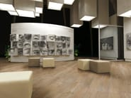 Glazed stoneware flooring with wood effect WILD WOOD | Flooring - Serenissima