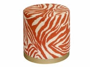 Upholstered fabric pouf WILLY | Pouf - SOFTHOUSE