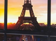 Stampa su tela in poliestere WINDOW EIFFEL TOWER - KARE-DESIGN