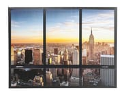 Polyester Canvas print WINDOW NY SKYLINE - KARE-DESIGN