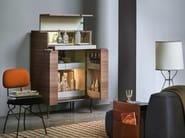 Walnut bar cabinet WINSTON - Lema