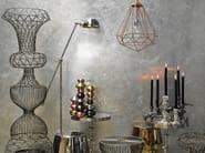 Metal vase WIRE XXL NUDE - Pols Potten