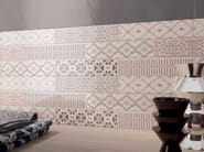 White-paste wall tiles with concrete effect WORK | Wall tiles - Ceramiche Marca Corona
